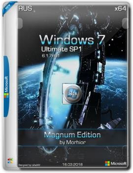 Windows 7 Ultimate SP1 x64 Magnum Edition by Morhior