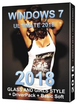 Windows 7 Ultimate {x64} +Girls Style + DriverPack
