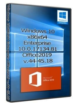Windows 10 x86x64 Enterprise 10.0.17134.81 & Office2019 (Uralsoft)