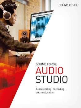 Звуковой редактор - MAGIX SOUND FORGE Audio Studio 12.6.0.352 (x86/x64)