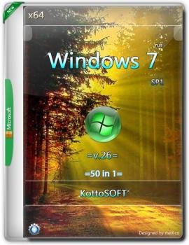 Windows 7 SP1 {50 in 1} KottoSOFT =X64= / v.26