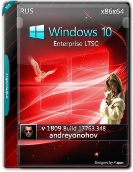 Windows 10 Enterprise LTSC 2019 17763.348 Version 1809 2DVD