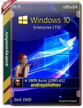 Windows 10 Enterprise LTSC 2019 17763.652 Version 1809 [2in1] DVD