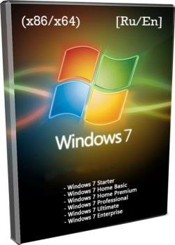 Windows 7x86x64 9 in 1 Update 12.09.2019 by Uralsoft