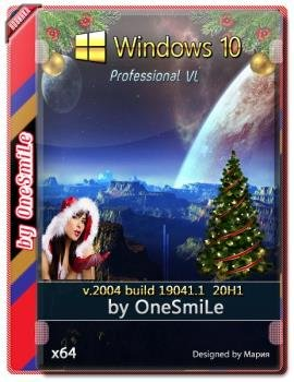 Windows 10 PRO VL 20H1 by OneSmiLe [19041.1] 64bit