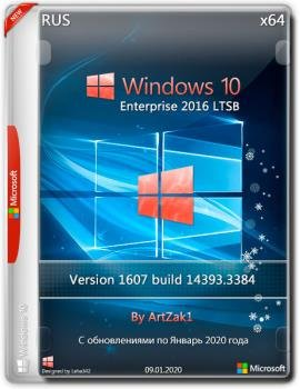 Windows 10 Enterprise 2016 LTSB (14393.3384 ) by ArtZak1