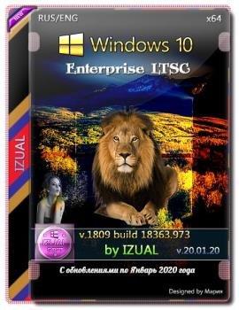 Windows 10 Enterprise LTSC v.18363.973 IZUAL (x64)