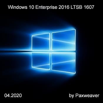 Windows 10 Enterprise 2016 LTSB 1607 14393.3659 (x86/x64) by Paxweaver (04.2020)
