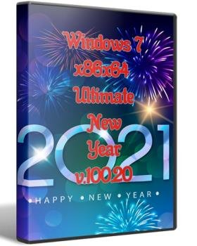 Windows 7x86x64 Ultimate New Year от Uralsoft